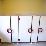 Sanitärtrennwände Kindergartentoilette